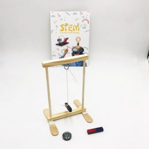 School Science Experiments ; Magnetic Force and Compass