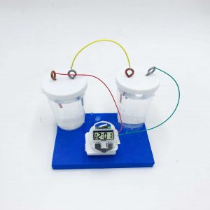 Cool Science Experiments for kids-Salt water clock