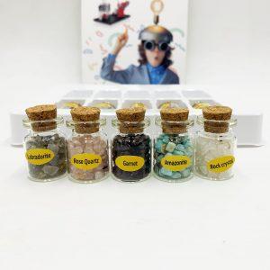 Mineral Specimens Wholesale ; 8 pcs semi precious stone